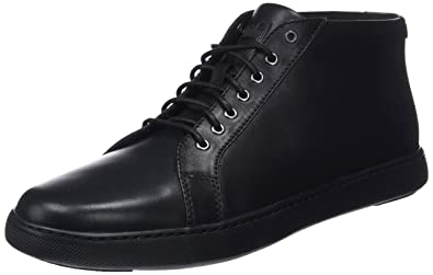 a3f916757d90 Fitflop Men s Andor Tumbled Leather Trainers  Amazon.co.uk  Shoes   Bags