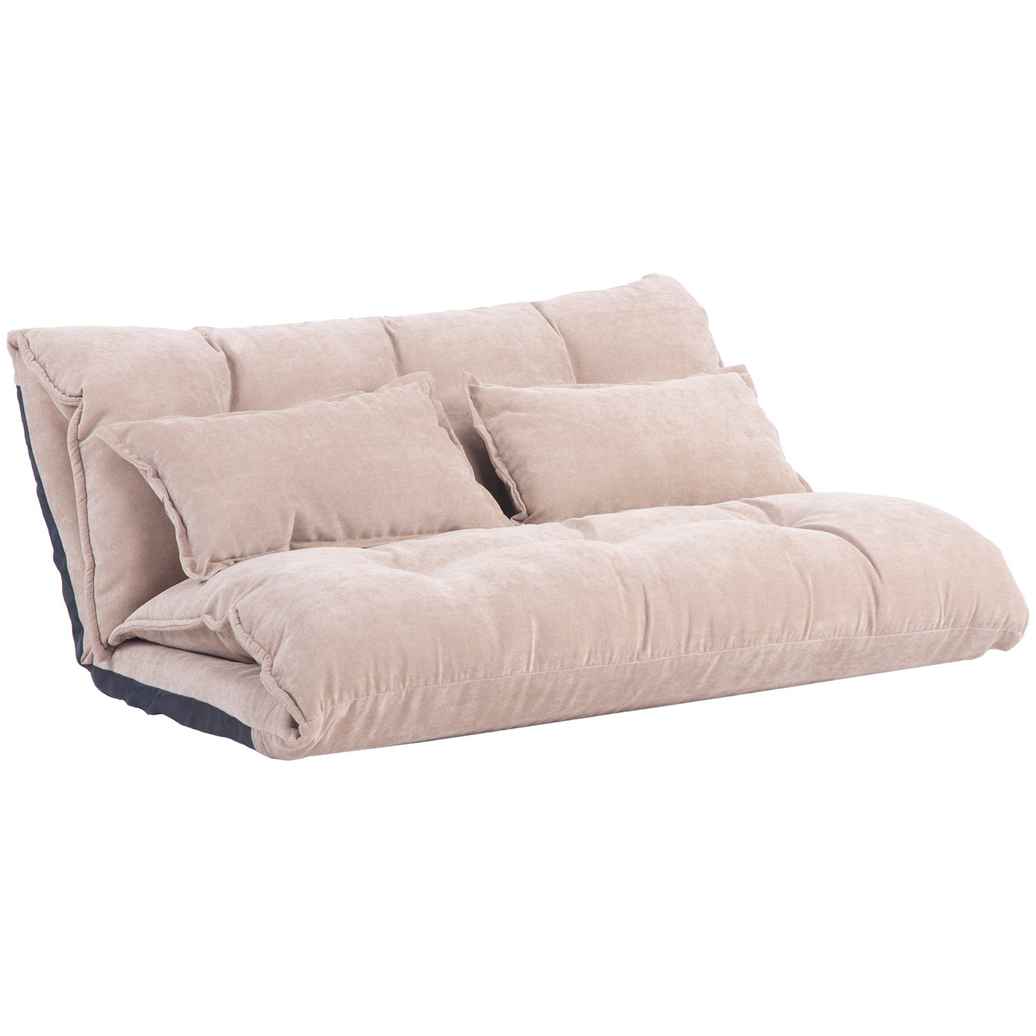 Merax Adjustable Floor Sofa Bed Lounge ...