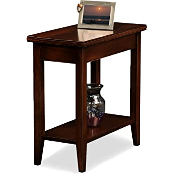 Amazon Com Leick Laurent Narrow Chairside End Table