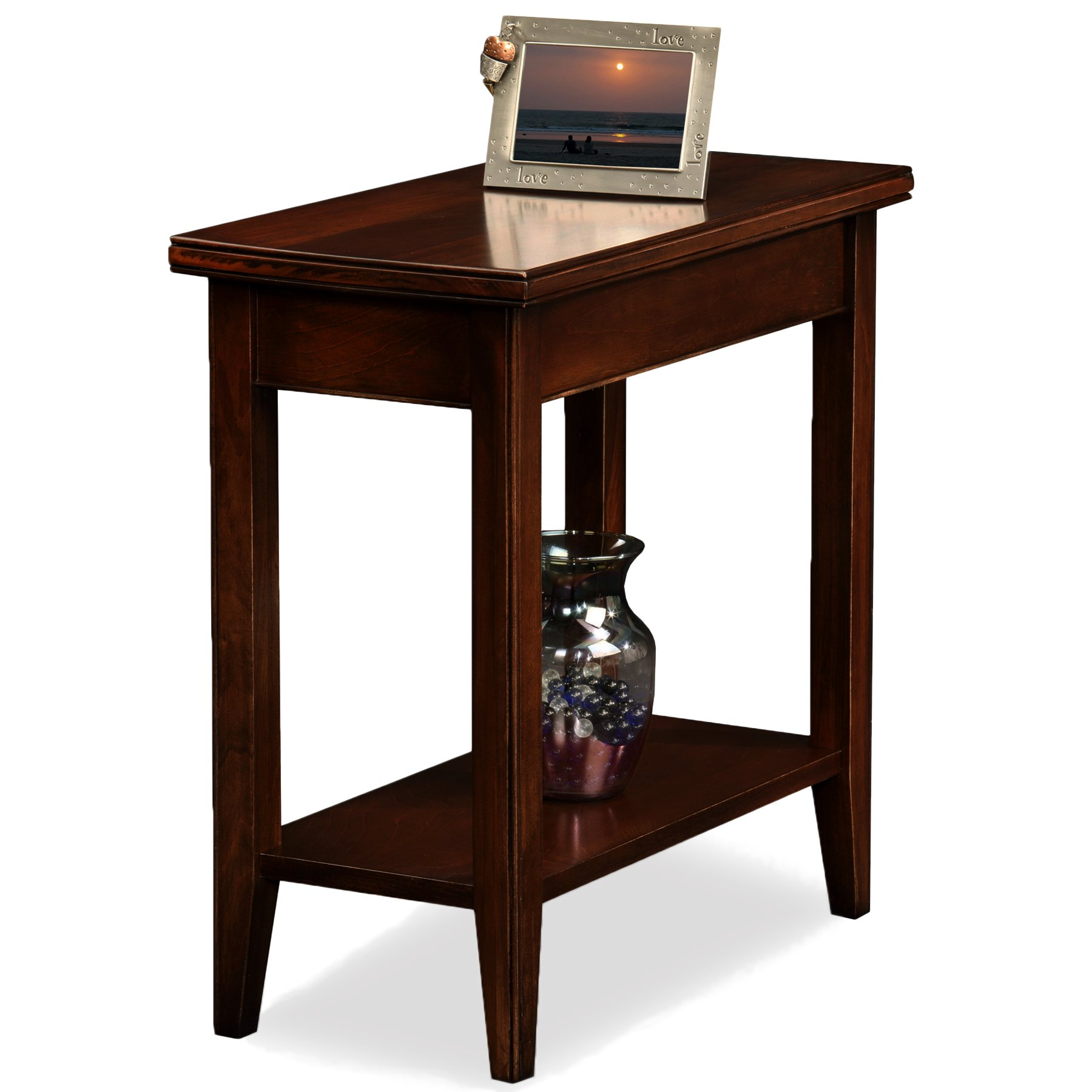 Leick Laurent Narrow Chairside End Table by Leick Furniture