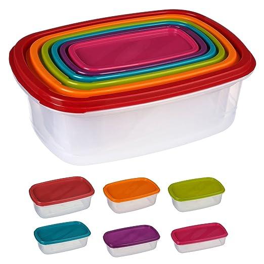 6 cajas alimentaires silley® & # x2605; Juego de cajas de ...