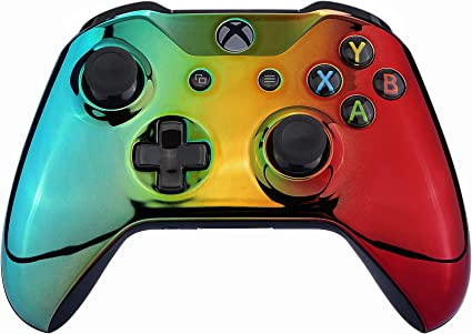 eXtremeRate Carcasa Gradual para Mando Xbox One S/X Funda Frontal ...