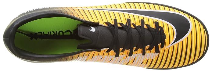 Amazon.com | Nike Kids MercurialX Victory VI Turf Soccer Shoes (9 D(M) US) Orange/Black | Soccer