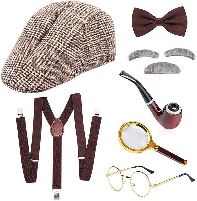 SPECOOL Sherlock Holmes Detective Kit Old Man Shack Victorian ...