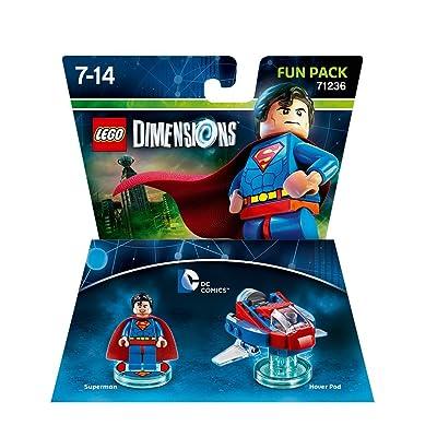 LEGO Dimensions Superman Fun Pack DC Comics 71236: Video Games