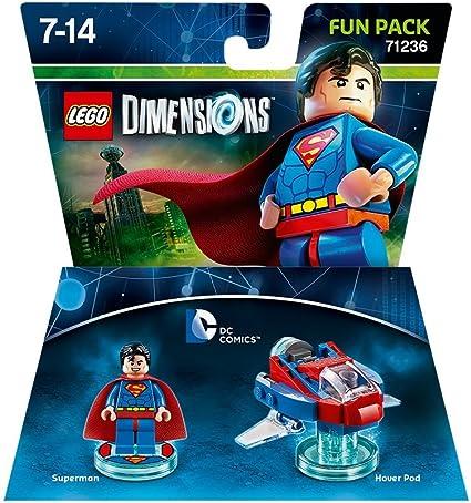 Warner Bros Interactive Spain Lego Dimensions - DC Superman: Amazon.es: Videojuegos