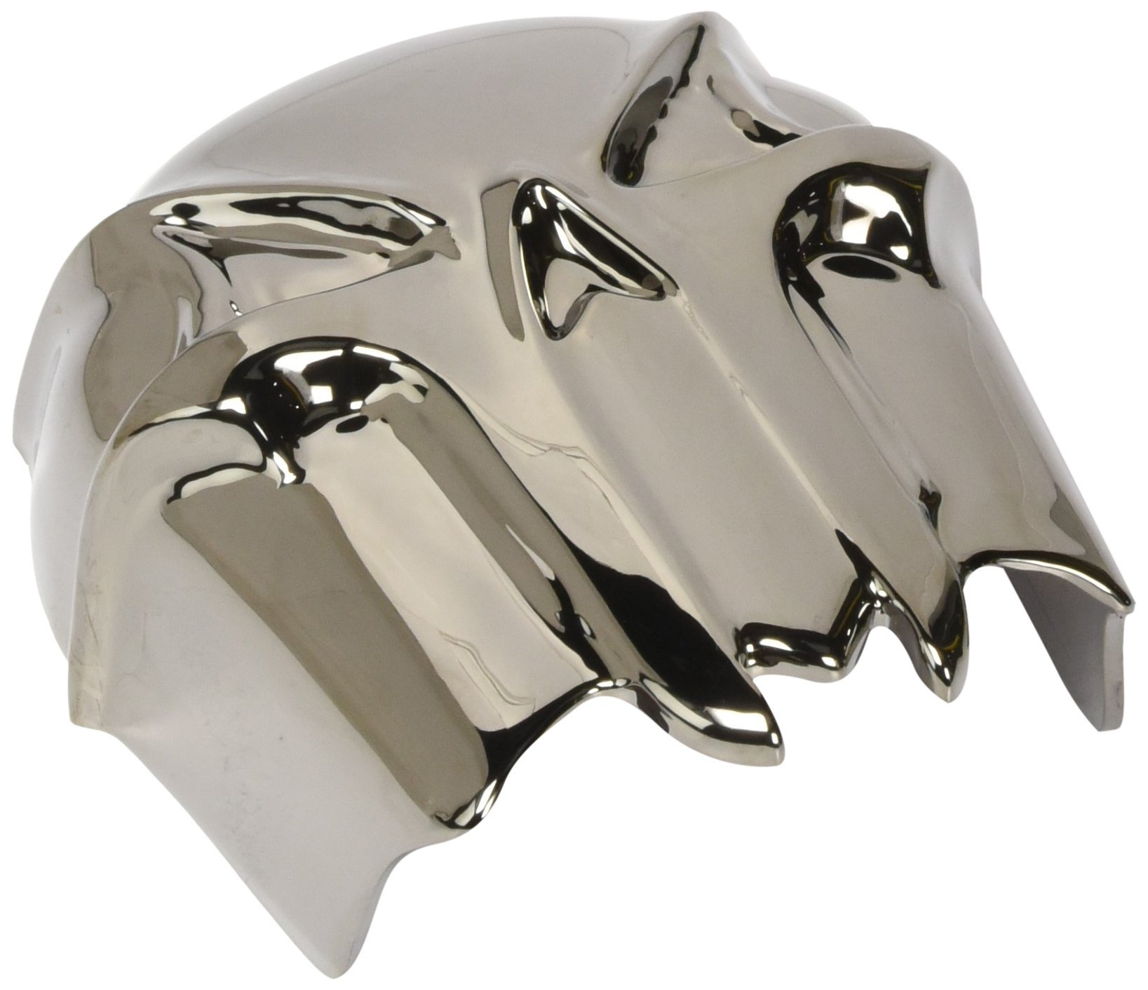 Kuryakyn 7741 Black/Chrome Skull Horn Cover