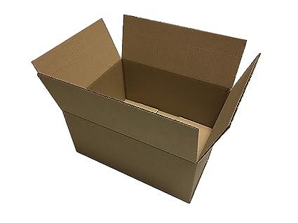 200 X Cajas de Cartón 400 x 300 x 180 * 40 x 30 x 18 cartón ...