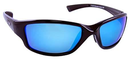 5cd2a8d666123 Image Unavailable. Image not available for. Color  Sea Striker Bluewater  Bandit Blue Mirror Polarized Sunglasses