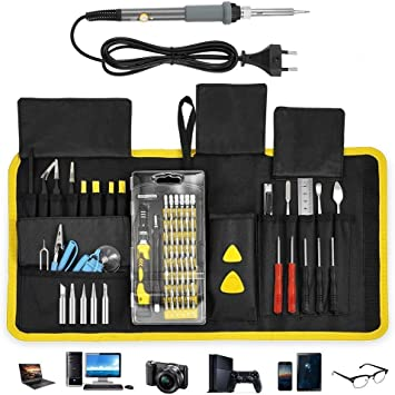 5 tlg Präzision Schraubendreher Set Handy Reparatur Werkzeug Feinmechanik Set