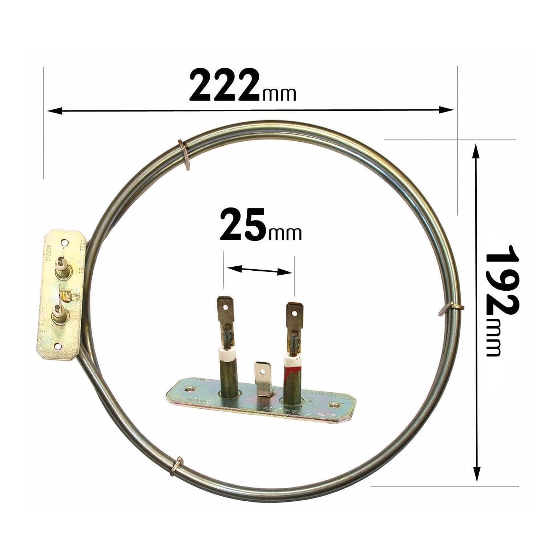 Leisure ventilateur four cuisini/ère 2/Turn Element 2100/W