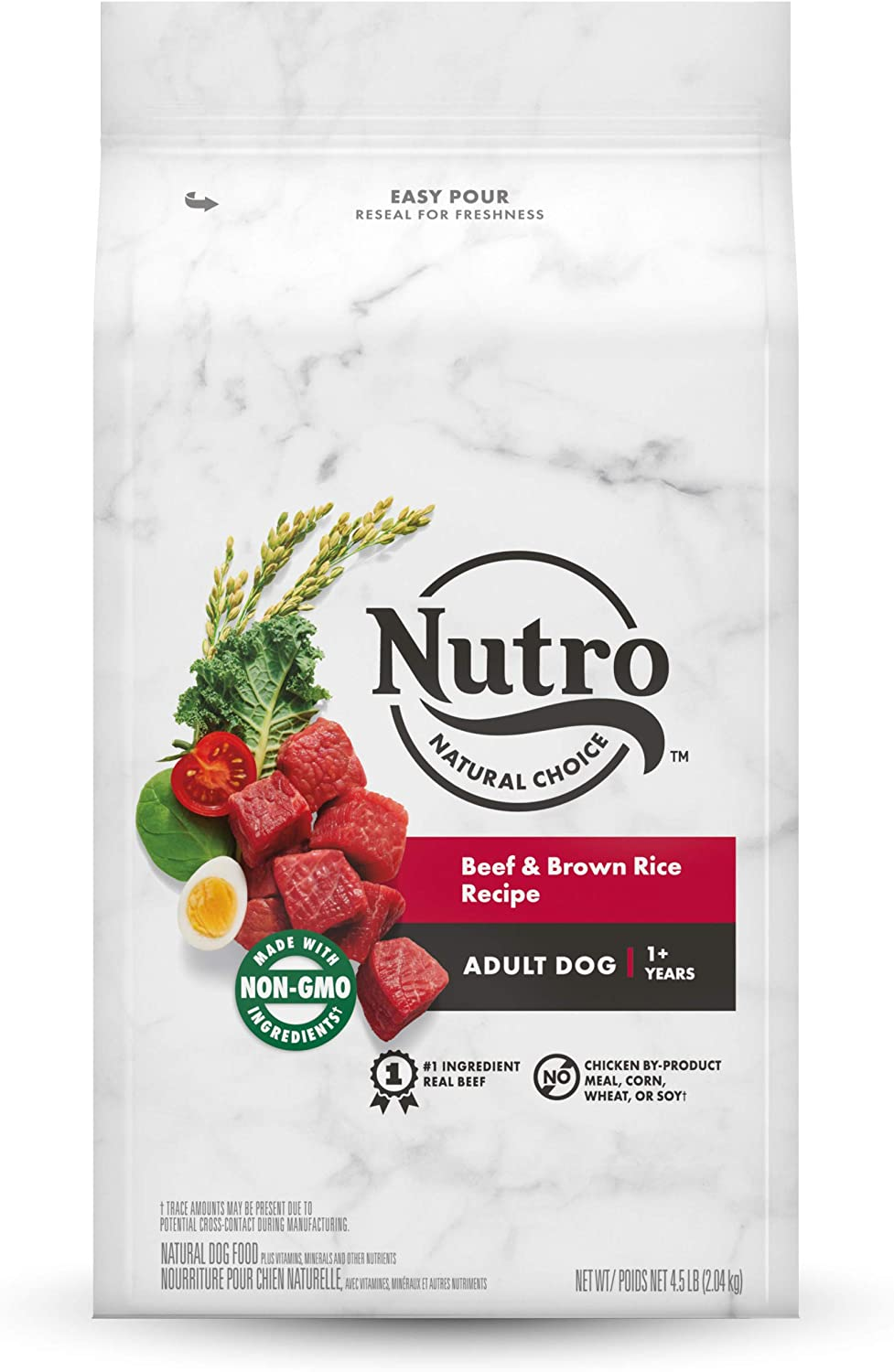 NUTRO Natural Choice Natural Adult Dry Dog Food Beef & Brown Rice