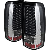 Spyder Auto ALT-ON-CS03-LED-BK Chevy Silverado 1500/2500/3500 and GMC Sierra 1500/2500/3500 Black LED Tail Light