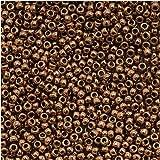 Toho Round Seed Beads 15/0 #221 'Bronze' 8 Gram Tube