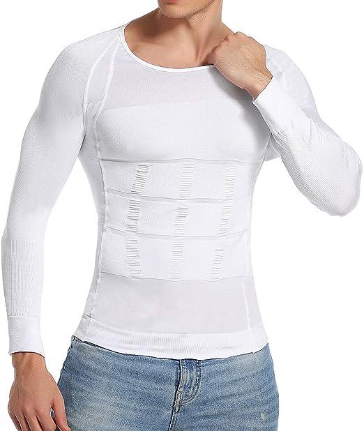 Tshirt donna fitness maglietta dimagrante snellente shaper modellante pancia