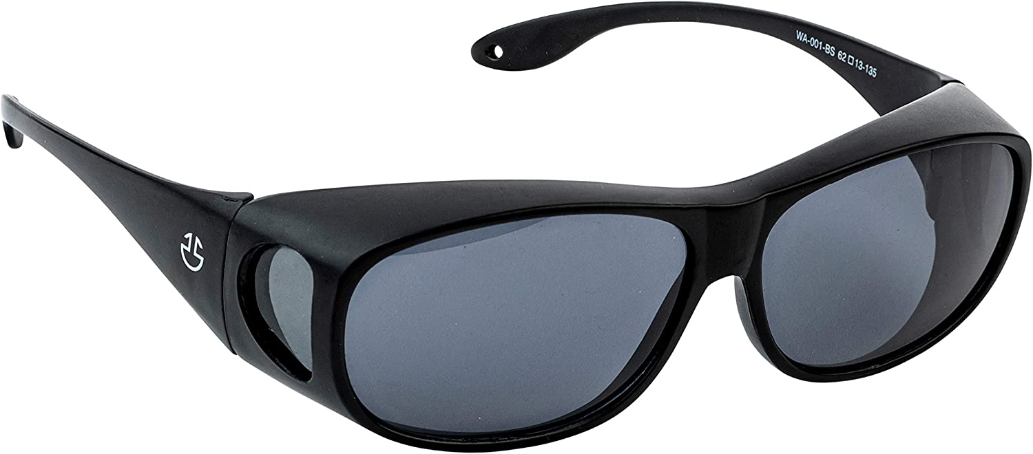 Over Glasses Sunglasses for Men & Women, UV Protection Fit Over Polarized Wrap Arounds