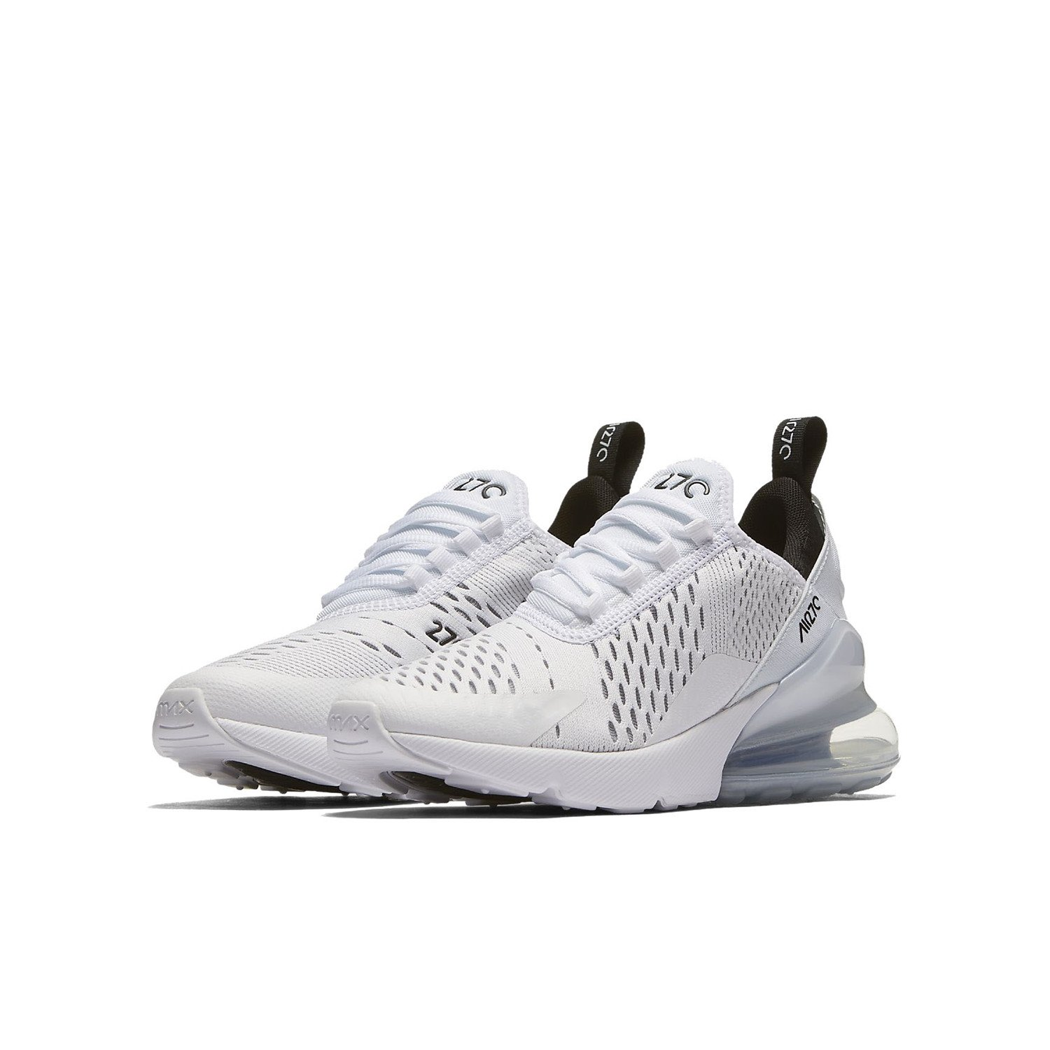 TENGFEI Air 270 Flyknit Men's Running Shoes Trainers Lace up Breathable Leisure Sneaker B07DJ46629 6 M US White