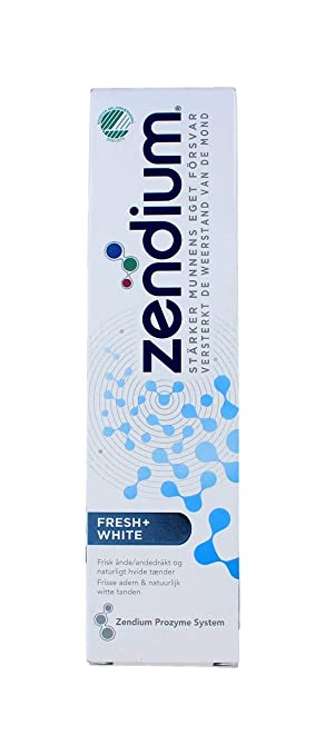 Amazon.com: Pasta dental Zendium Fresh + White, 2.5 fl oz ...