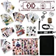 Fatyi EXO Gift Set with Lomo Card, Keychain, Ring, Lanyard, 3D Sticker, Sticker, Pen, Wristband, Banner, Phone Stand, Seal
