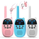 GOCOM Kids Toys Walkie Talkies Birthday Child Gift Walky Talky Handheld Two-Way Radio Boys & Girls Toys Age 4-12, for Indoor