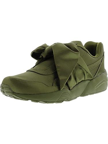 cheap for discount 8f6ce 28443 PUMA Women's Bow Sneaker Ankle-High Satin Fashion: Puma ...
