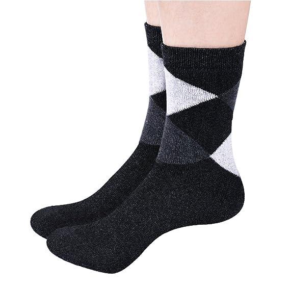 TinTop Calcetines para hombre calcetines ricos en algodón, cómodo y transpirable elástico de los hombres del diseñador (5 pares): Amazon.es: Ropa y ...