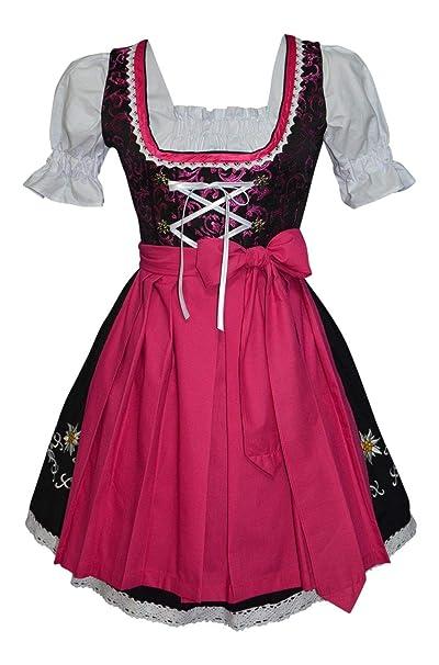 Amazon.com: 3-piece Vestido de alemán Oktoberfest Dirndl ...