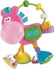 Sonajero Playgro con caballo de peluche