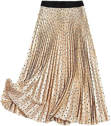 Poachers Falda Larga Mujer Verano 2019 Faldas Mujer Midi Falda Flamenca Mujer Elastica Vestidos Verano Mujer Largos Casual Vestido Playa Mujer 2019 Vestidos Playa Mujer Verano 2019: Amazon.es: Ropa y accesorios