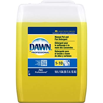 Dawn Professional Pot and Pan Detergent, Lemon Scent, 5 Gallons