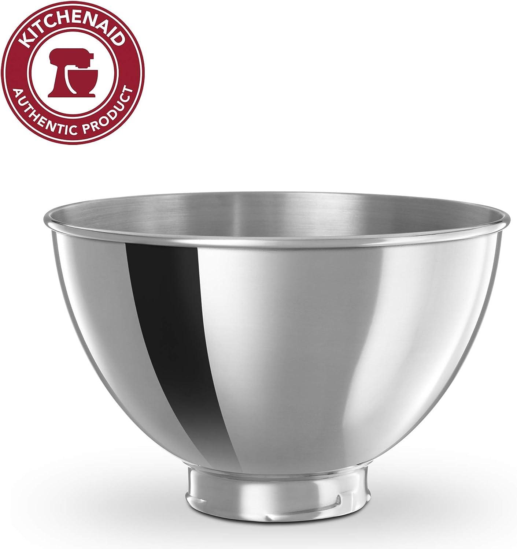 B00004SGF9 KitchenAid KB3SS 3-Quart Stainless Steel Bowl for Tilt-Head Stand Mixers 71xzjgpASWL