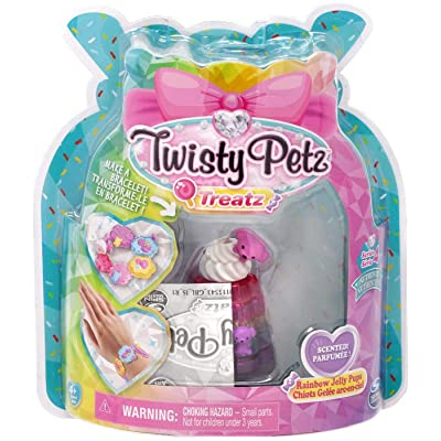 Twisty Petz Treatz - Rainbow Jelly Pups - Series 4: Toys & Games