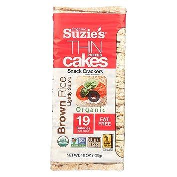 Suzies Tortas de arroz inflado delgada, un poco sucio ...