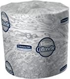"Kimberly-Clark Professional 17713 Kleenex Cottonelle Bathroom Tissue with  60 Rolls per Case, 4.09"" x 4"", 172.46' (Pack of 60)"