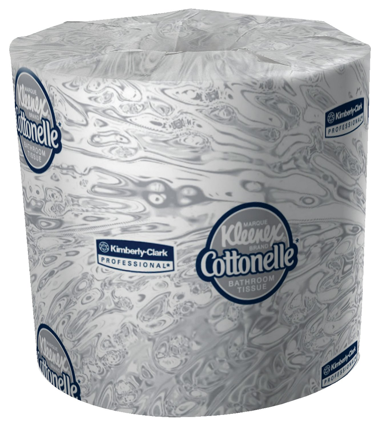 Kimberly-Clark Professional 17713 Kleenex Cottonelle Bathroom Tissue with 60 Rolls per Case, 4.09'' x 4'', 172.46' (Pack of 60)