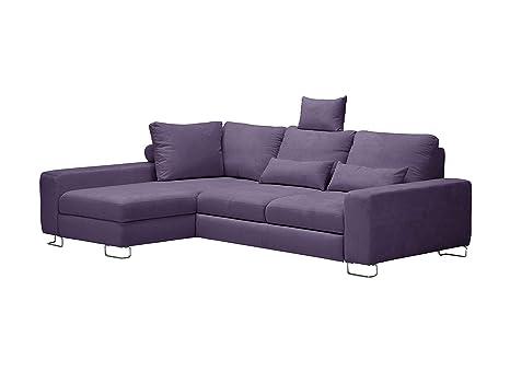 Windsor & Co sofá de Esquina Izquierda Convertible con baúl ...