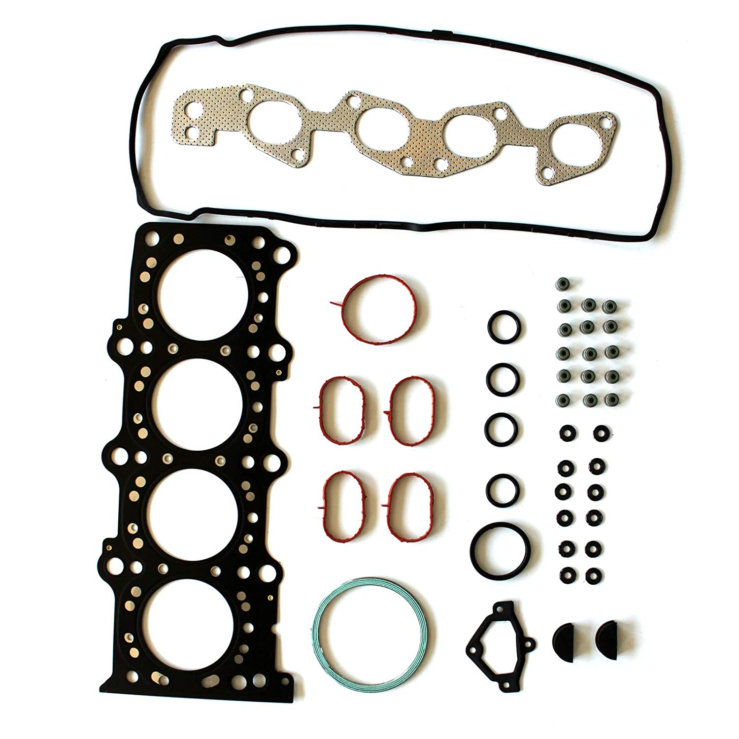 OCPTY Head Gasket Set fits 07 08 09 Suzuki SX4 Gaskets Kit Cylinder Head Gasket Set
