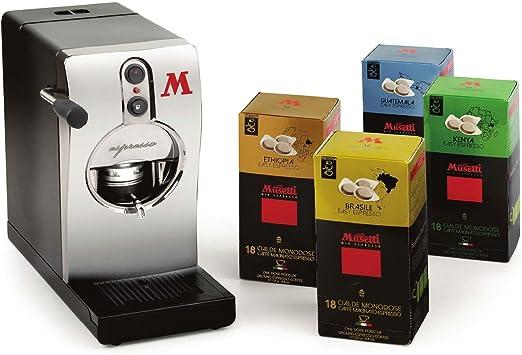Qualità Italia - Máquina de café de monodosis tubo níquel y 72 ...