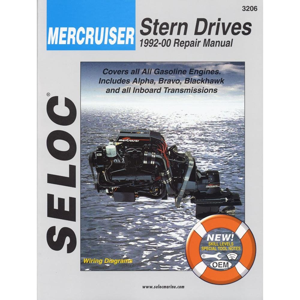 Amazon mercruiser stern drives 1992 2000 seloc marine amazon mercruiser stern drives 1992 2000 seloc marine manuals sports outdoors fandeluxe Choice Image