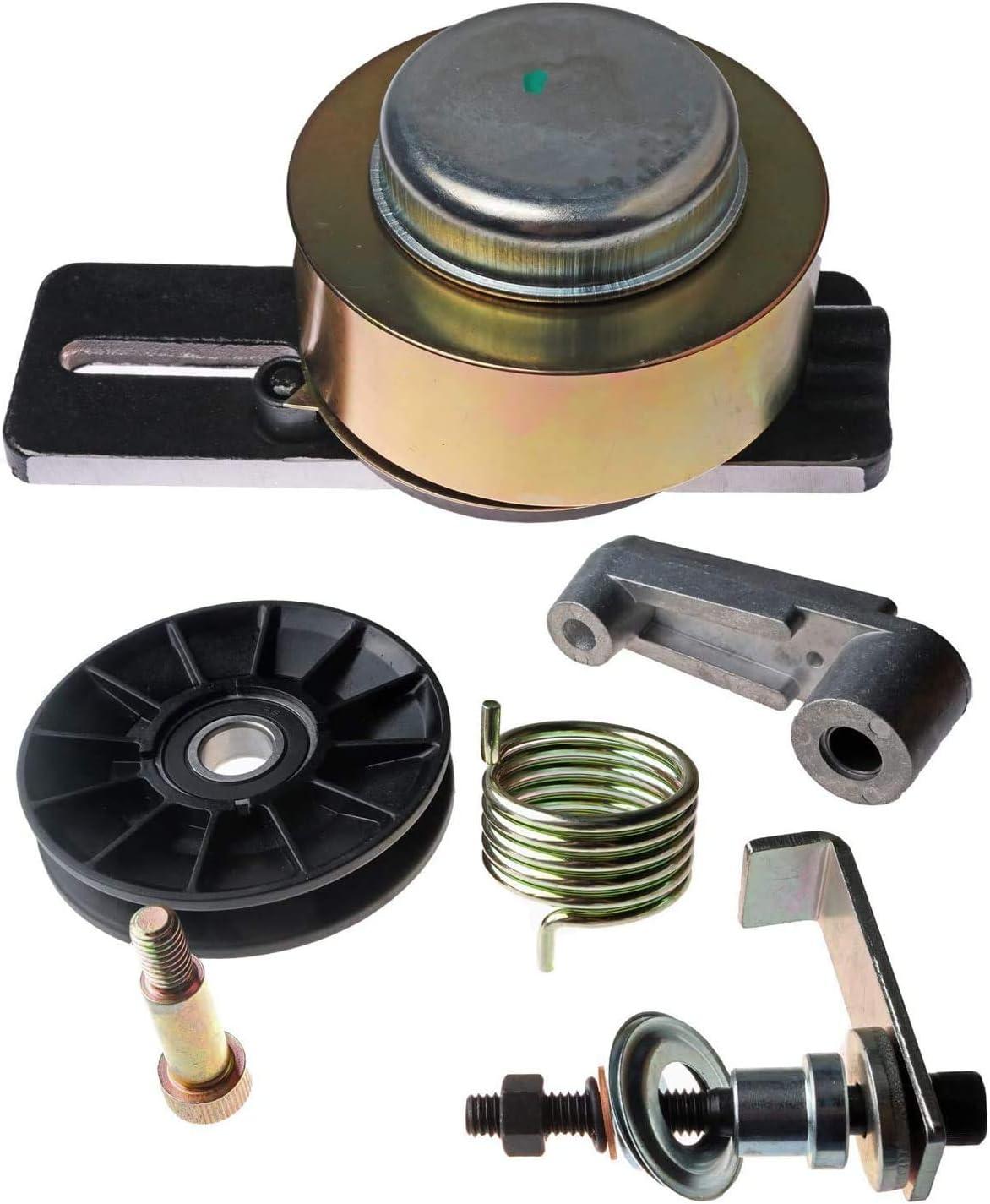 JEENDA Drive Belt Tensioner & Cooling Fan Pulley Tensioner Kit 6735884 6662997 for Bobcat 653 751 753 763 773 7753 S130 S150 S160 S175 S185 S205 T140 T180 T190