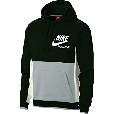 d8909289aded Nike mens M NSW HOODIE PULLOVER ARCHIVE 932457-332 2XL - OUTDOOR GREEN LIGHT  PUMICE SAIL SAIL at Amazon Men s Clothing store