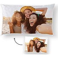 Fotoprix Almohada Personalizada con Foto y Texto | Regalo Original | Cojín Rectangular…