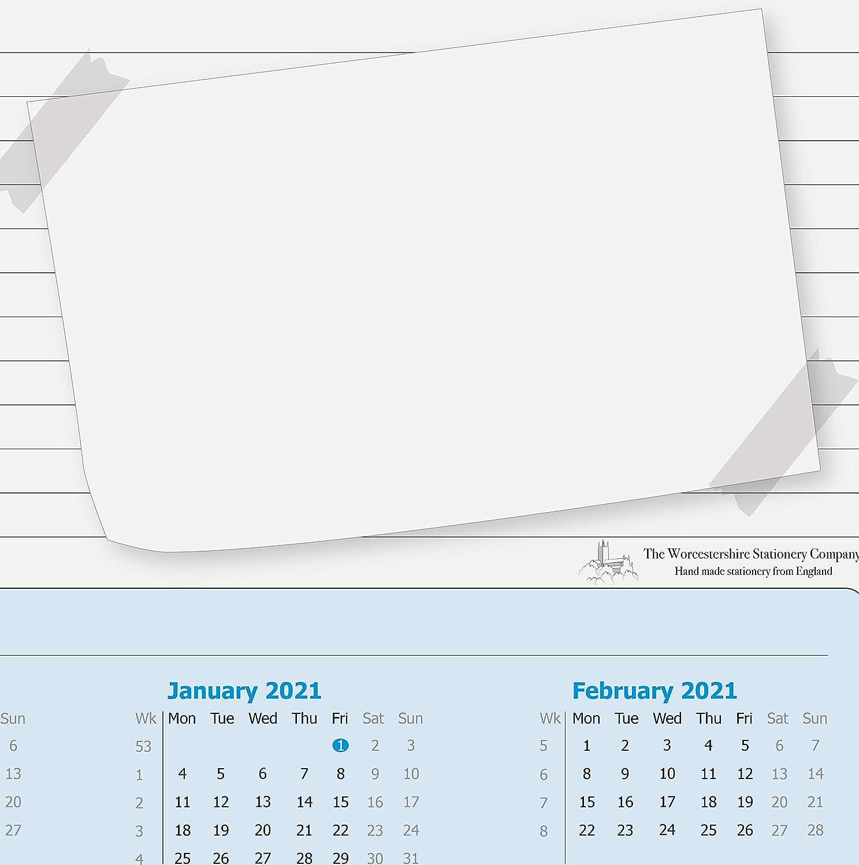 Calendrier Sous Main 2022 Calendrier 2021 2022 I dv_898 DIN A2 40 feuilles En papier à