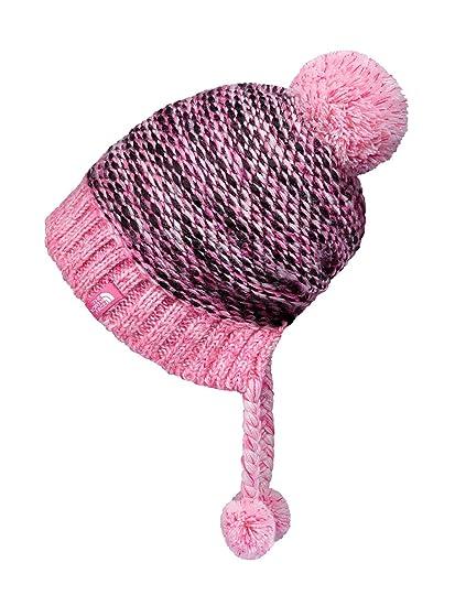 pink north face cap
