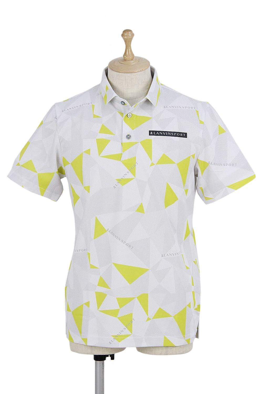 ポロシャツ メンズ ランバン スポール LANVIN SPORT 日本正規品 ゴルフウェア vmn156481 LL(42) イエロー(LM04) B07S71JX4G