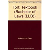 Tort: Textbook (Bachelor of Laws (LLB))