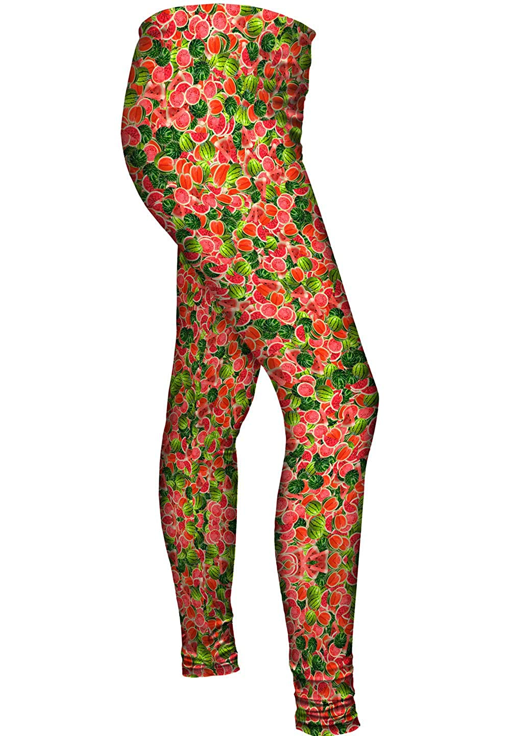 Watermelon Summer Ladies Womens Leggings Yizzam