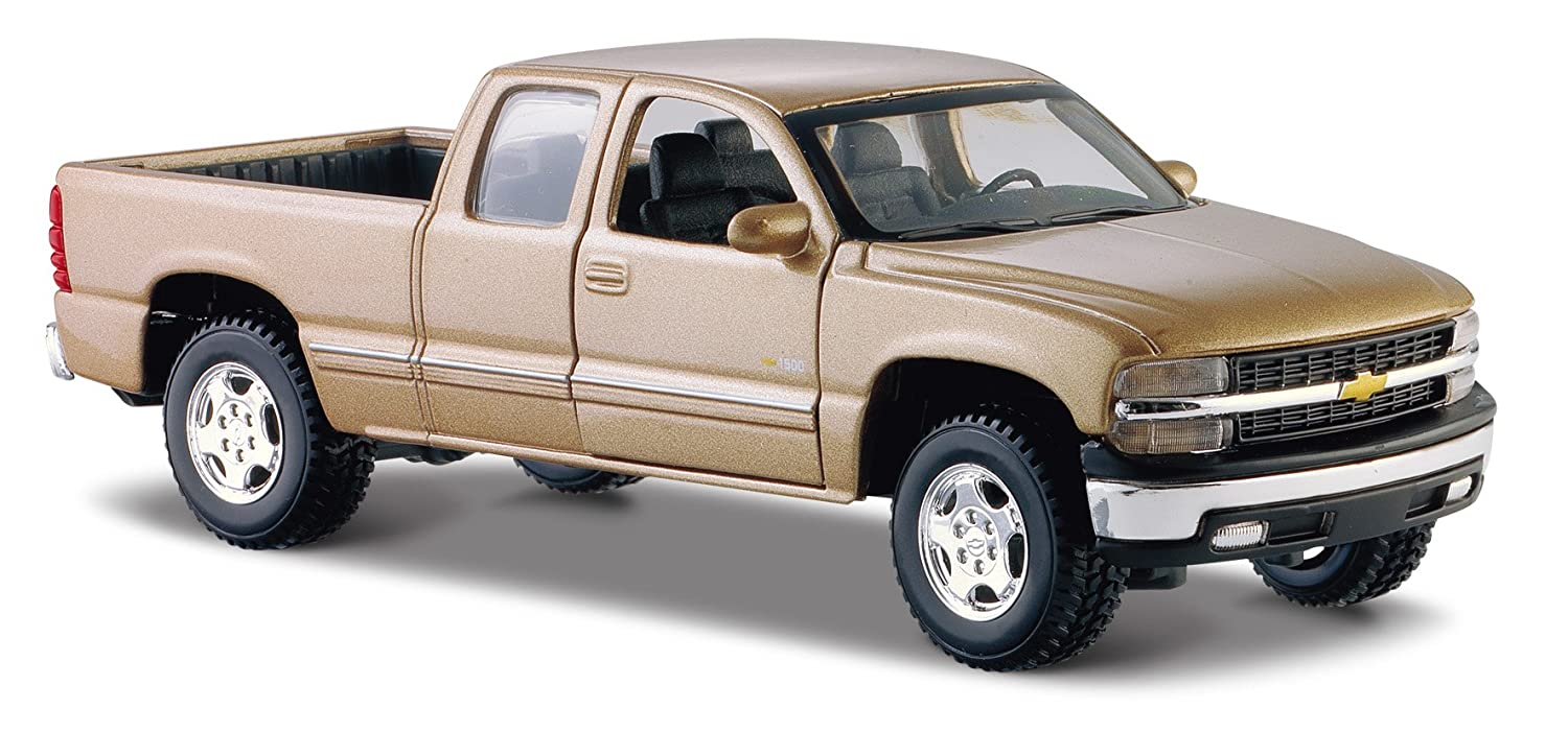 Maisto 1 27 Scale Chevrolet Silverado Diecast Vehicle Colors May Vary