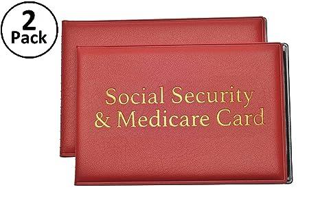 Amazon.com: Protector de tarjetas de seguridad social y ...