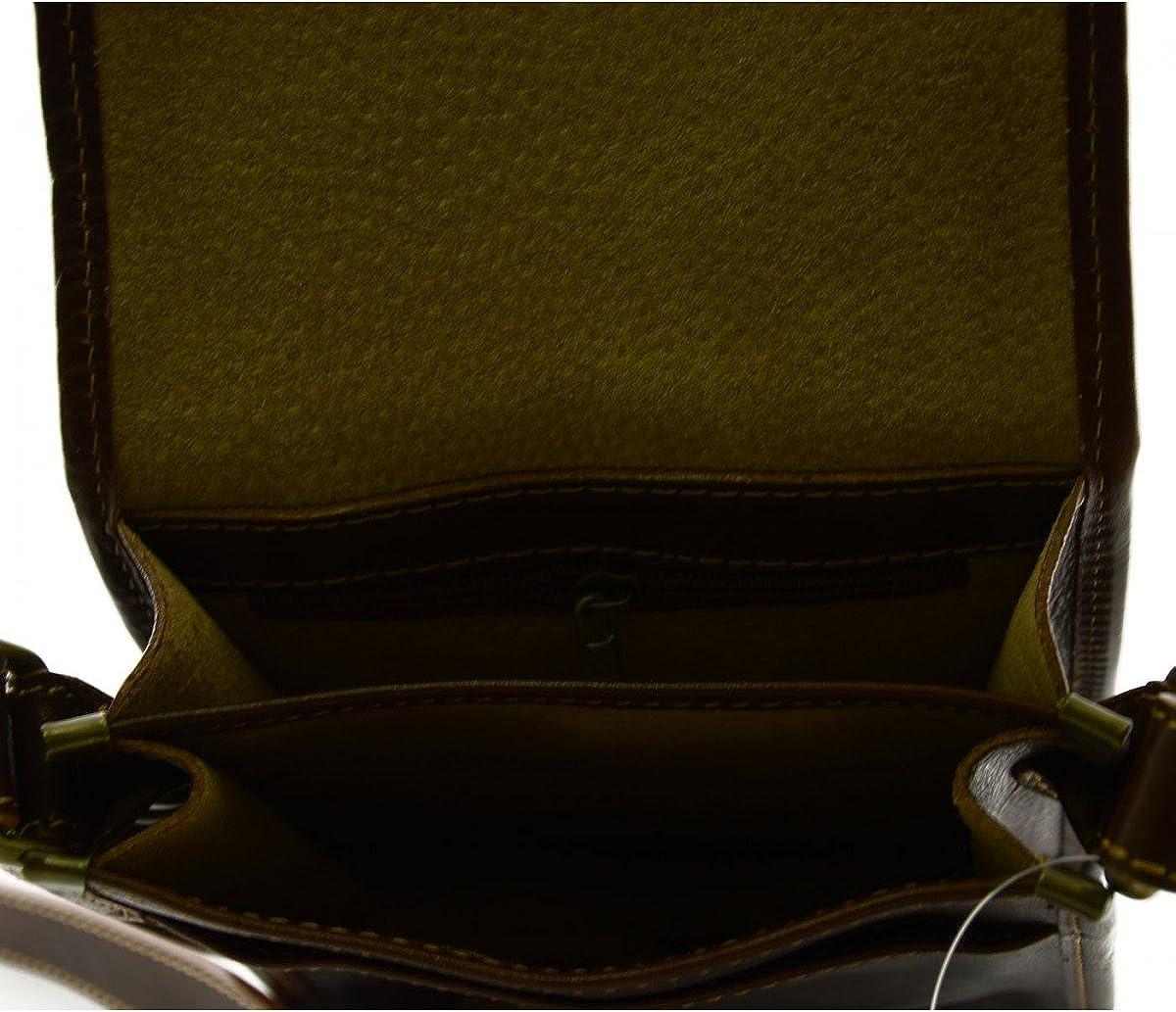Bolso en Piel Verdadera para Hombre 2 Compartimentos Lucio